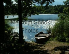 Boat On Swedish Lake