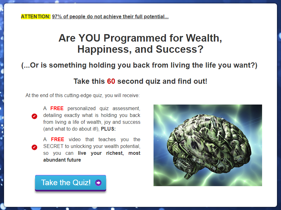 Quiz Reveals How To Achieve Your Full Potential