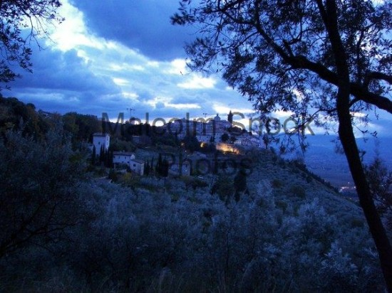 Medieval Hilltop Town Umbria Italy