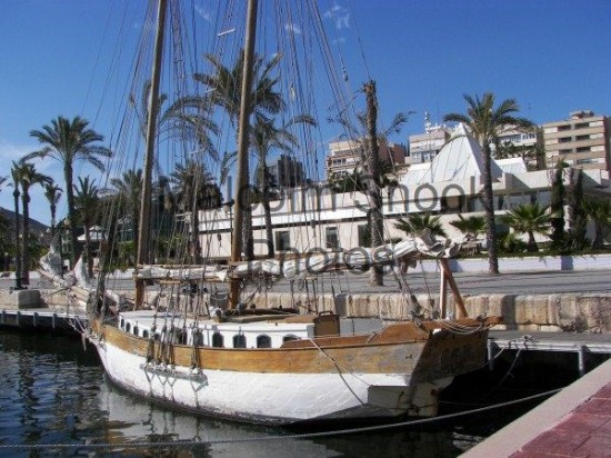 Wooden Cutter Ketch In Need Of TLC