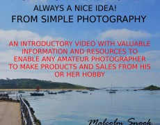 Video Tutorial – Make Money From Simple Photography